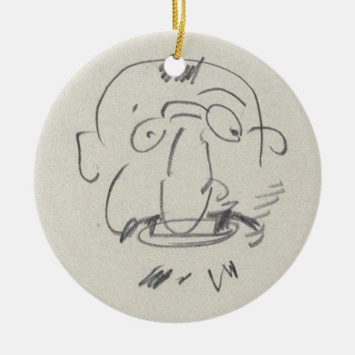 Par Lui-Meme (lápiz de Lautrec de la carga en el p Ornato