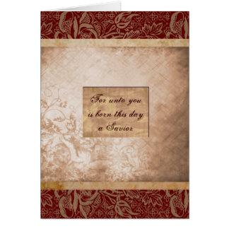 Para a usted nace este día tarjeta de felicitación