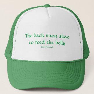 Para alimentar el Belly Gorra De Camionero