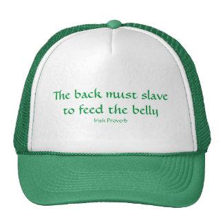 Para alimentar el Belly Gorros
