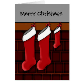 Para contar con a padres en el navidad tarjeta