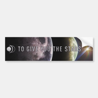 Para darle las estrellas pegatina para el parachoq etiqueta de parachoque