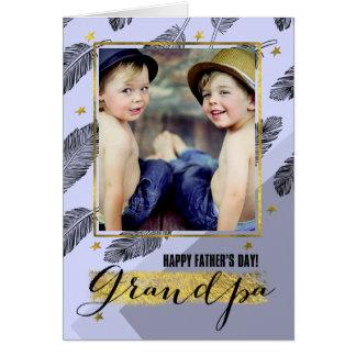 Para el abuelo en las tarjetas de encargo de la