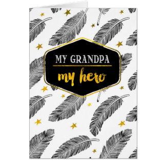 Para el abuelo en las tarjetas de felicitación de