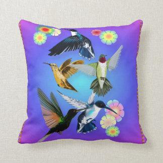 Para el amor de colibríes almohadas
