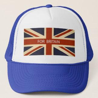 Para el gorra de Gran Bretaña