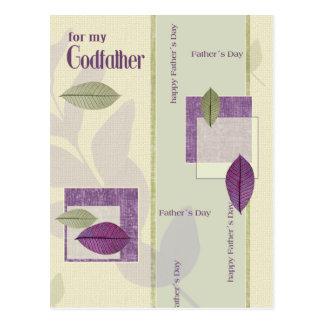 Para el padrino en la postal del día de padre