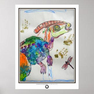 Para-elévese-alophus Poster