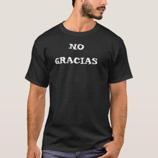 Para hombre ninguna camiseta de Gracias