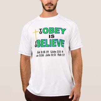 Para hombre predique la camisa
