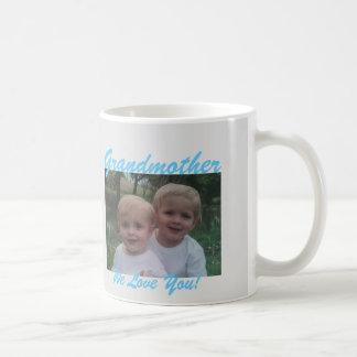 para la abuela añada su taza del regalo de la foto