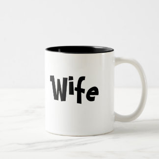 Para la esposa - taza de café/taza