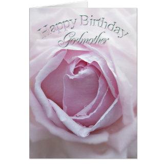 Para la madrina, una tarjeta de cumpleaños con un