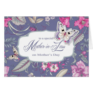Para la suegra en las tarjetas de felicitación del