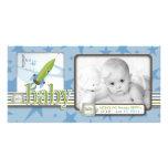 Para la tarjeta de la foto del bebé tarjetas con fotos personalizadas