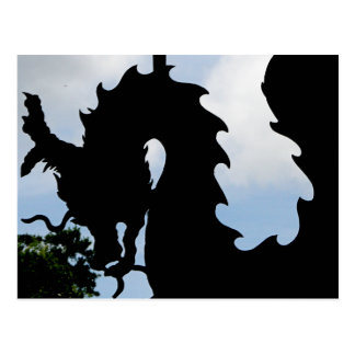 Para los dragones postal