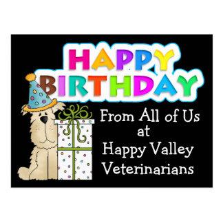 Para los veterinarios - SRF Tarjeta Postal