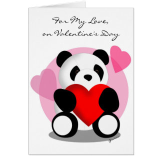 Para mi amor tarjeta de felicitación