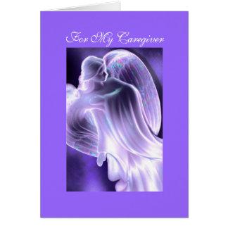 Para mi cuidador - tarjeta de felicitación del
