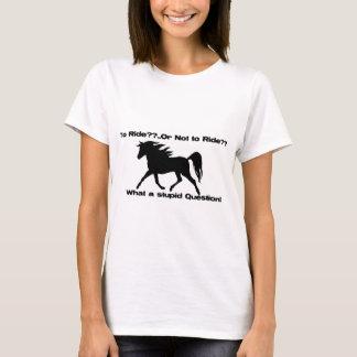 Para montar la camisa del caballo