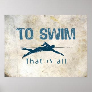 Para nadar impresiones