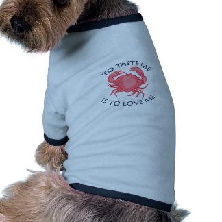 Para probarme camisetas de perro