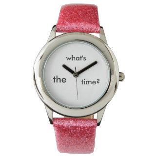 Para saber el tiempo relojes de pulsera