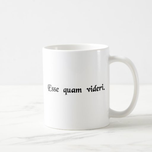 Para ser, bastante que parecer tazas de café