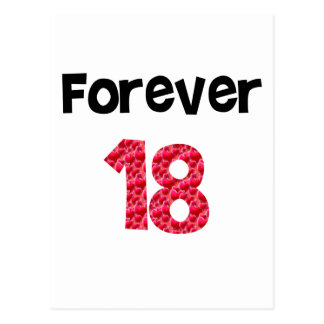 Para siempre 18 postal