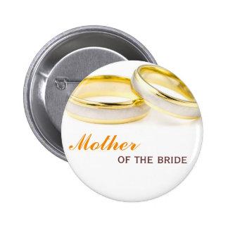 Para siempre el suyo dos anillos que casan el pern chapa redonda 5 cm