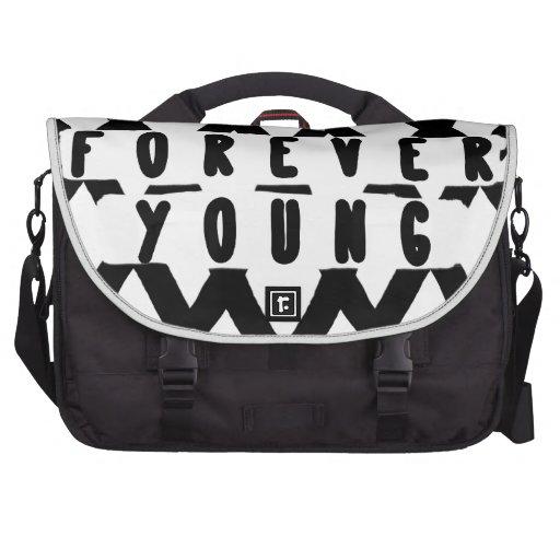 para siempre jóvenes bolsas para portátil