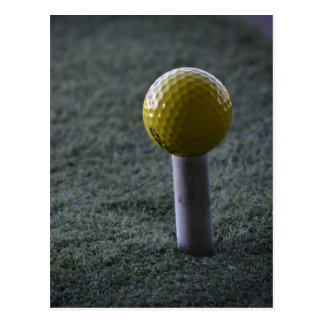 Para su golfista preferido postal