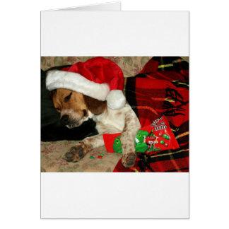 Para tarjeta de felicitación del navidad del