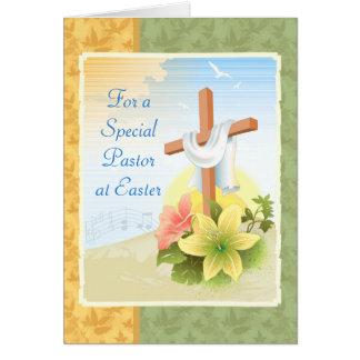 Para un pastor especial en Pascua: Tarjeta de