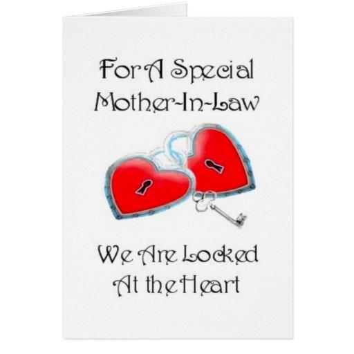 Para un poema especial de la suegra con los gráfic felicitaciones