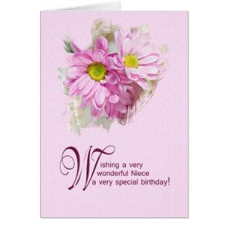 Para una sobrina, una tarjeta de cumpleaños con la