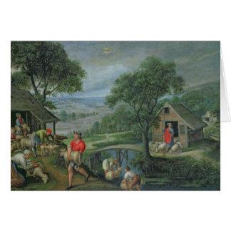 Parábola del buen pastor, c.1580-90 felicitacion