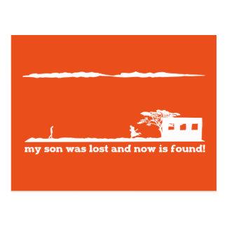 Parábola del hijo despilfarrador - el amor de postal