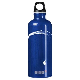 Paracaídas negro y blanco - botella de agua de