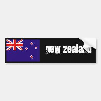 Parachoque 2 de la bandera de Nueva Zelanda Pegatina Para Coche