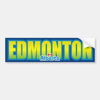 Parachoque de Edmonton Pegatina Para Coche