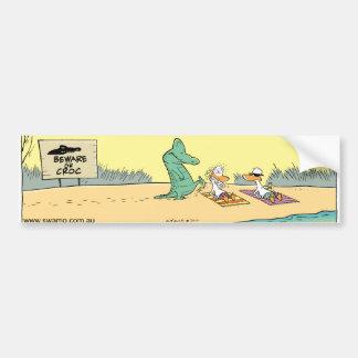 Parachoque divertido Sticke del dibujo animado del Pegatina Para Coche