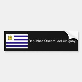 Parachoque oriental de Uruguay del del de Repúblic Pegatina Para Coche