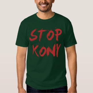 Parada José sangriento rojo Kony de Kony 2012 Camiseta