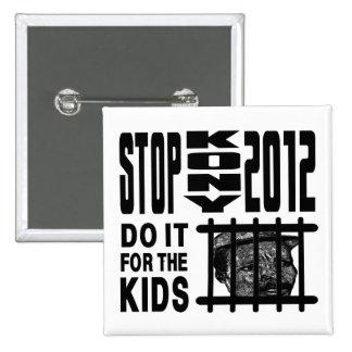Parada Kony 2012 - hágala para los NIÑOS Pins