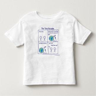 Paradoja gemela camisetas