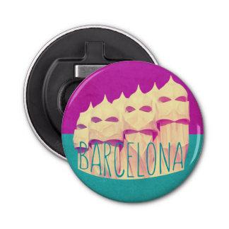 Paraíso de Barcelona Gaudi Abrebotellas Redondo