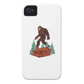 Paraíso de Bigfoot Funda Para iPhone 4