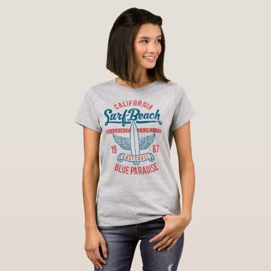 Paraíso de la playa de la resaca de California Camiseta