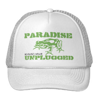 PARAÍSO DESENCHUFADO - ISLA GRANDE, HAWAII GORROS